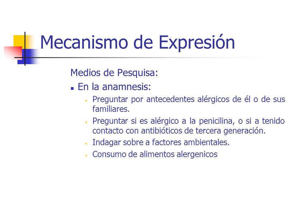 Mecanismo de Expresión Modificaciones en el RN: 1.