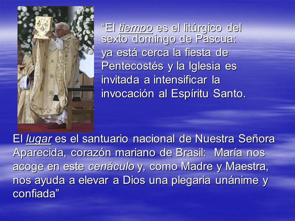 El tiempo es el litúrgico del sexto domingo de Pascua: El tiempo es el litúrgico del sexto domingo de Pascua: ya está cerca la fiesta de Pentecostés y