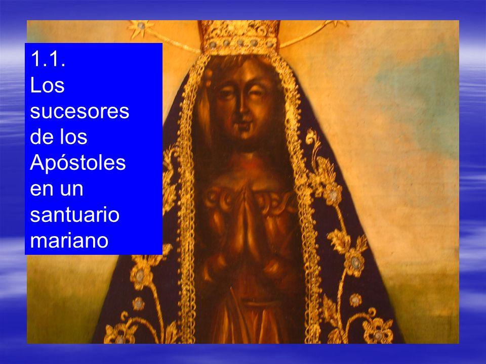 El lugar escogido fue una intuición del Papa Benedicto XVI… La casa de María…