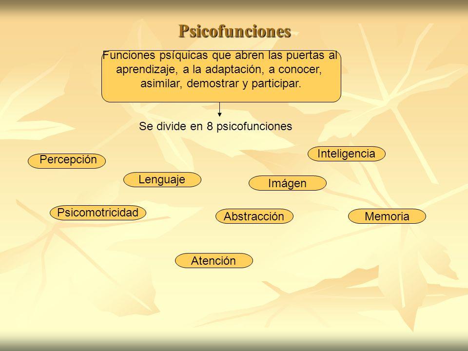La Percepción Proceso en el cual se elabora e interpreta información para organizarla y darle sentido.