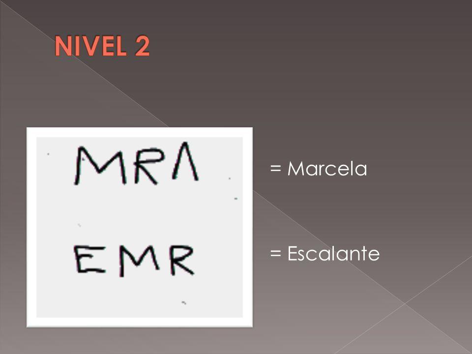 = Marcela = Escalante