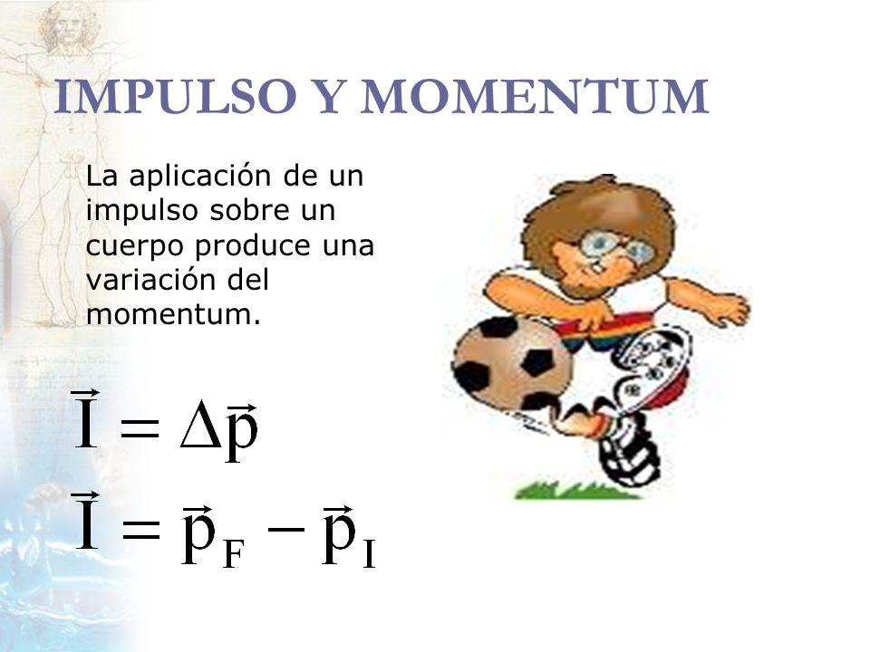 EJERCICIOS Un cuerpo de masa m, cuya cantidad de movimiento es p, se mueve a lo largo del eje x (y en el mismo sentido) con una velocidad v.