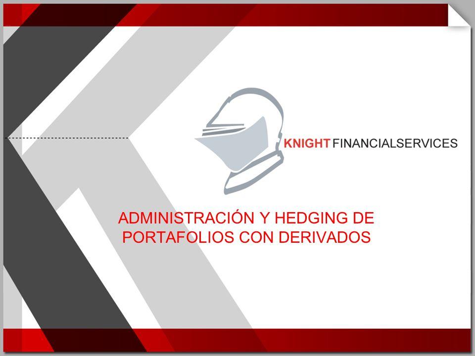 Coaching y Consultoría Modelamiento de Riesgo Derivados y Estructuras Optimización de Portafolios Soluciones de Tecnología INTRODUCCIÓN Knight Financial Services es una empresa especializada en soluciones de Ingeniería Financiera