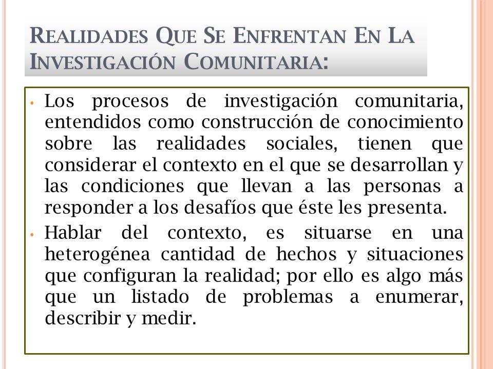 N ECESIDADES DE I NTERVENCIÓN P SICOLÓGICA C OMUNITARIA SALUD EDUCACIÓN EMPLEO FORMACION PROFESIONAL