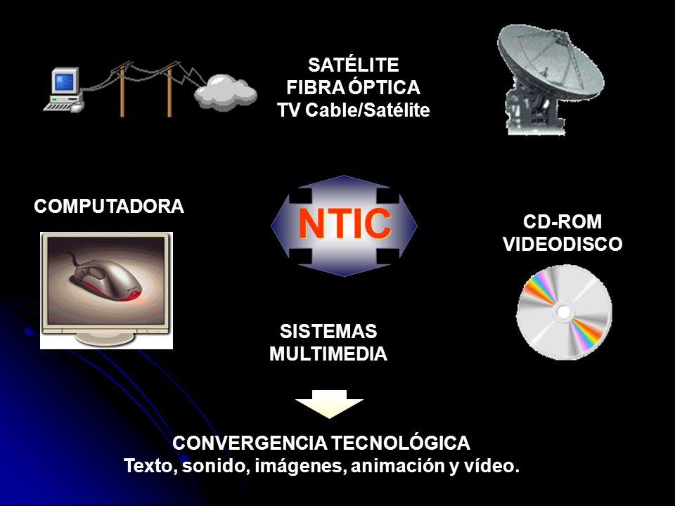 Componentes Tecnologías básicas Microelectrónica (circuitos integrados, semiconductores, microchips) y Optoelectrónica (fibra óptica, rayo láser) Tecnologías informáticas ordenador, software, tecnologías de inteligencia artificial, interfases, terminales Tecnologías de telecomunicaciones incluyen áreas de transmisión de imágenes, datos y sonidos a través de redes de cables (ópticos o eléctricos), ondas hertzianas, satélites, redes