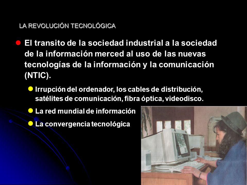 Sociedad del conocimiento Sociedad informatizada Sociedades digitales Sociedad red Industria del conocimiento Economía de la información Red global de capital y tecnología (M.