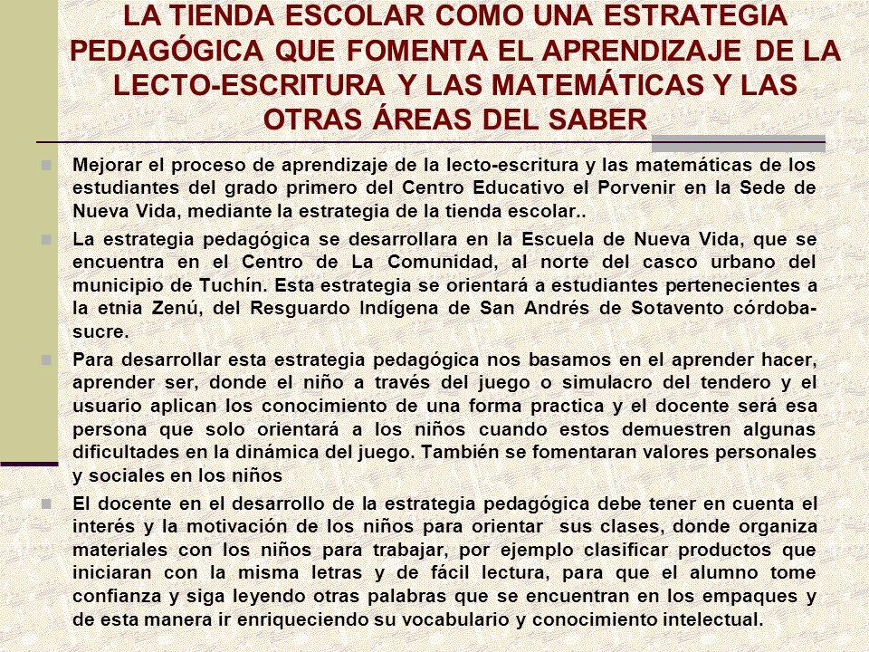 INCIDENCIA DE LAS EXPERIENCIAS SIGNIFICATIVAS O DE LAS BUENAS PRACTICAS PARTICIPACION DE LA COMUNIDAD Y ACTORES EDUCATIVOS CONCERNIENTES AL PROCESO EDUCATIVO FORTALECIMIENTO DE LOS PROCESOS DE FORMACION Y MEJORAMIENTO DE LA CALIDAD Y LA PERTINENCIA EDICATIVA PROPENDE POR UNA EDUCACION PARA LA INNOVACION Y LA COMPETITIVIDAD