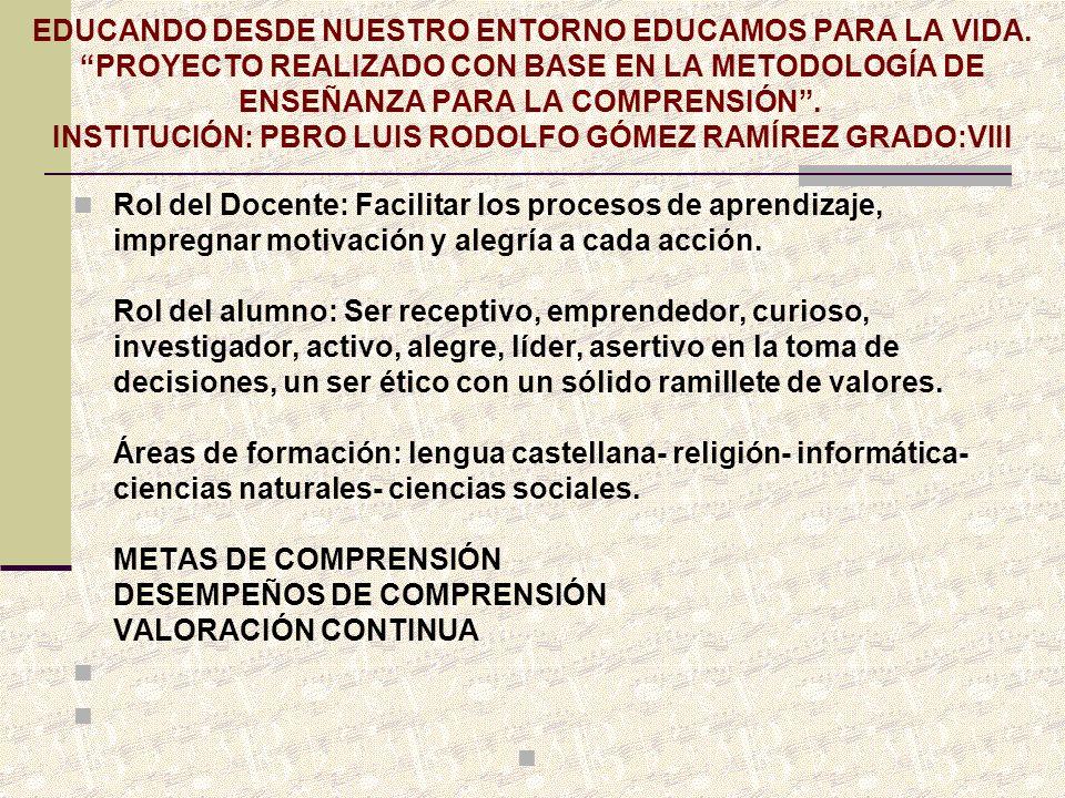 GRACIAS POR SU ATENCION, ENTUSIASMO E INTERES RED PEDAGOGICA «REPSU» INSTITUCION EDUCATIVA «SANTA ROSA DE LIMA» SEDE «AGUASCLARAS» MARZO 16 DE 2012