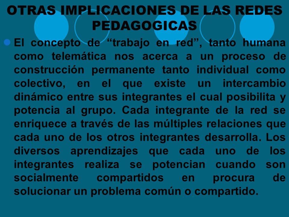 UNA EXPERIENCIA DE RED Desde el trabajo adelantado por la Red de investigación Educativa, ieRed, y a partir de los antecedentes mencionados anteriorme
