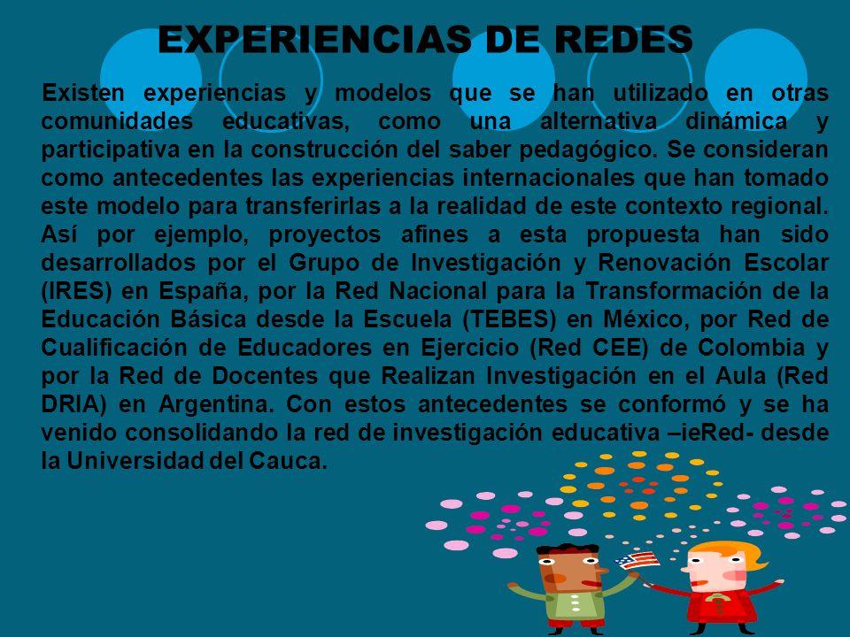 IMPORTANCIA DE TRABAJAR EN RED Trabajar en redes pedagógicas implica la articulación a diversos procesos pedagógicos que se desarrollan en las aulas d