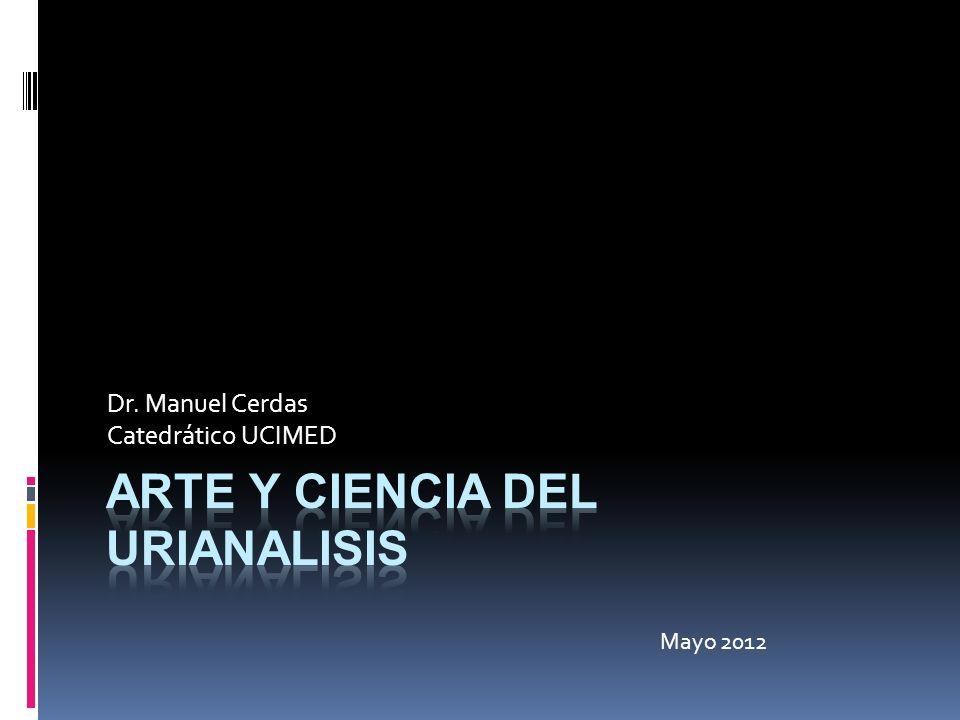 Dr. Manuel Cerdas Catedrático UCIMED Mayo 2012