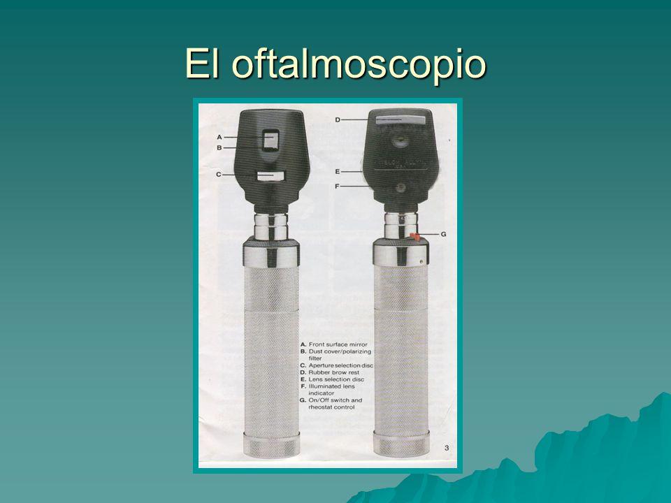 El oftalmoscopio
