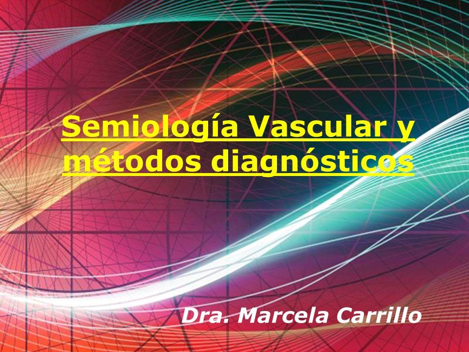 Free Powerpoint Templates Page 1 Free Powerpoint Templates Semiología Vascular y métodos diagnósticos Dra. Marcela Carrillo