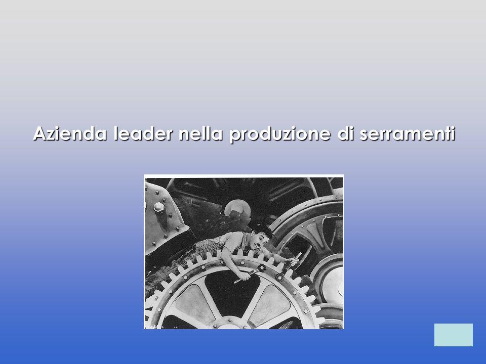 Azienda leader nella produzione di serramenti