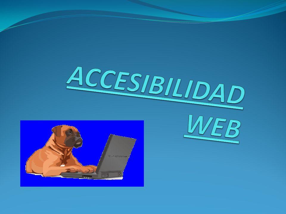 Definición: En consecuencia, podemos definir la accesibilidad Web como la posibilidad de que un producto o servicio web pueda ser accedido y usado por el mayor número posible de personas, indiferentemente de las limitaciones propias del individuo o de las derivadas del contexto de uso.