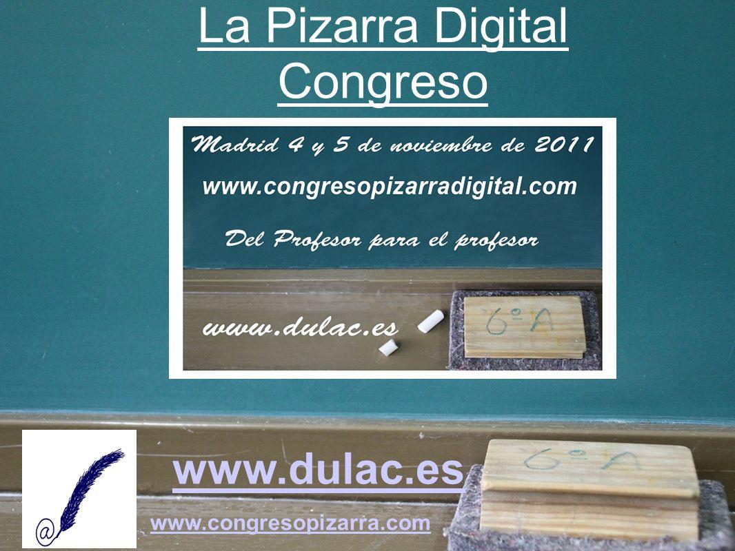 www.dulac.es www.congresopizarra.com -Tipos de pizarras -Cuál elegir -Ayudas -Formación -Recursos -Instalación y ubicación -Proyectos -Reflexión, Motivación, Dinamización, Coordinación -Consulte la GUÍA Proyectos Pizarra Digital GUÍA Proyectos Pizarra Digital La Pizarra Digital Guía Proyectos