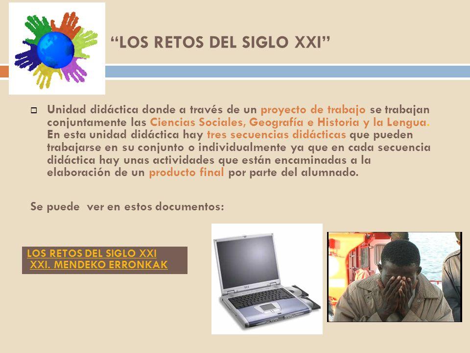 Unidad didáctica donde a través de un proyecto de trabajo se trabajan conjuntamente las Ciencias Sociales, Geografía e Historia y la Lengua.