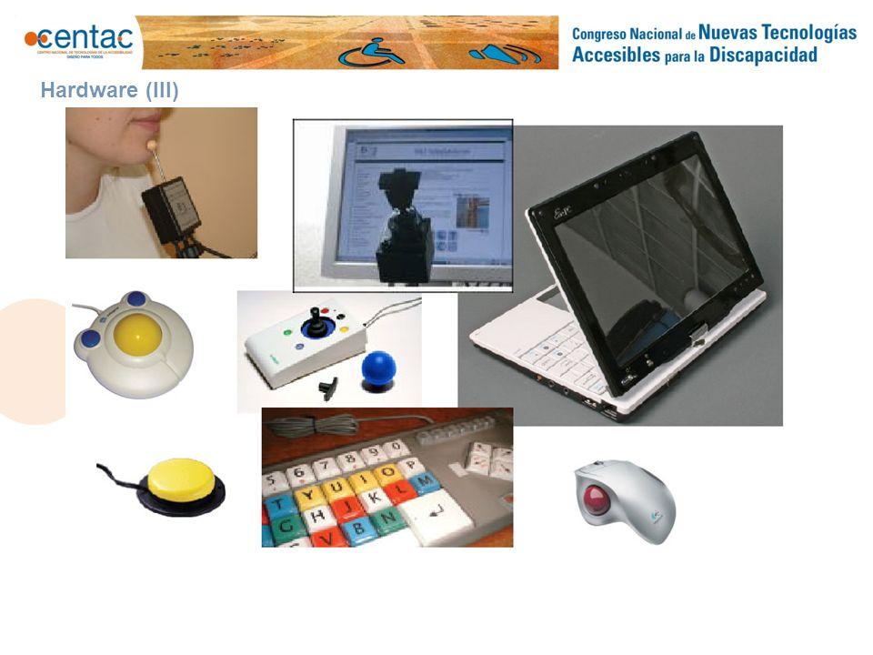 PROYECTO DE INTEGRACIÓN Guadalinfo Accesible Hardware (III)
