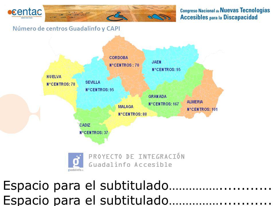 PROYECTO DE INTEGRACIÓN Guadalinfo Accesible Software. Muestra de t-Orienta