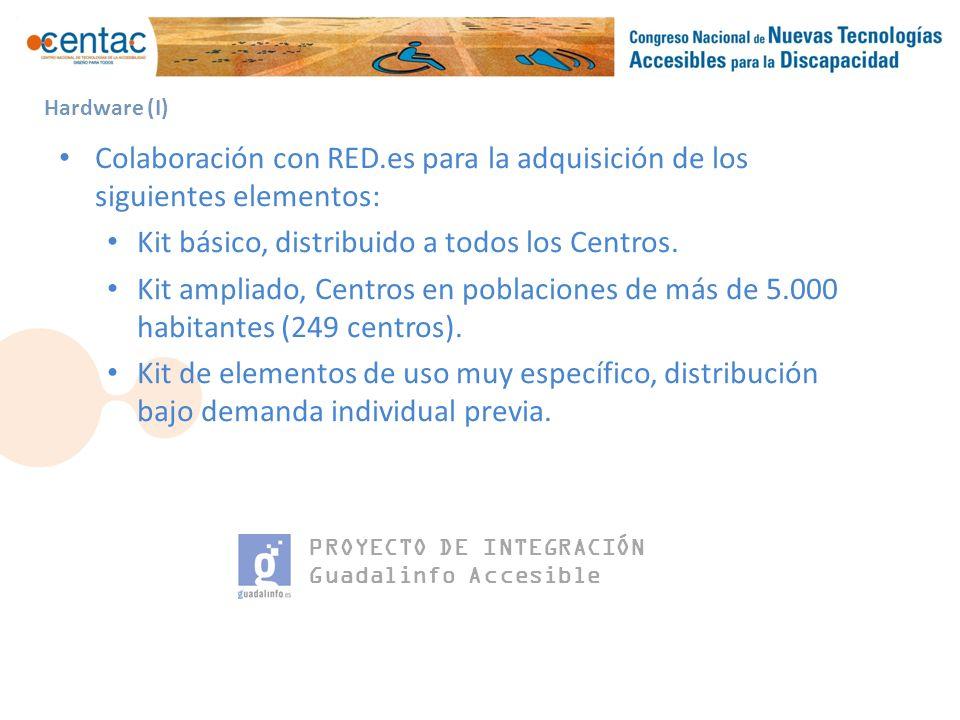 PROYECTO DE INTEGRACIÓN Guadalinfo Accesible Hardware (II)