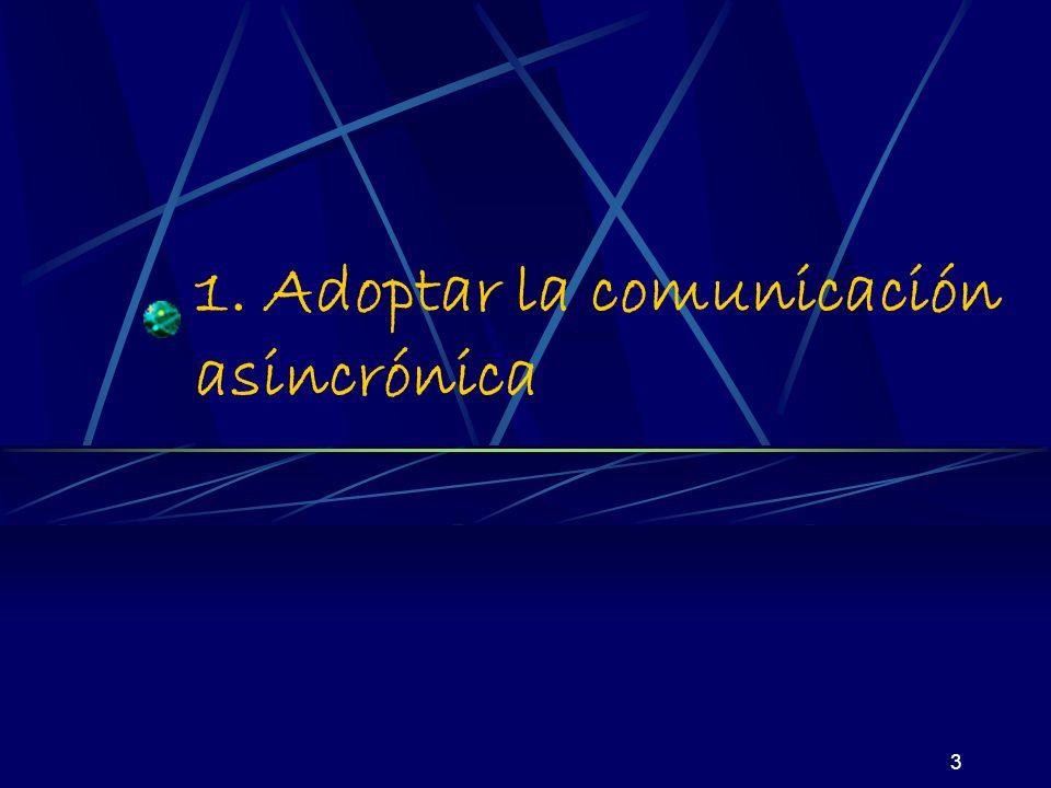3 1. Adoptar la comunicación asincrónica