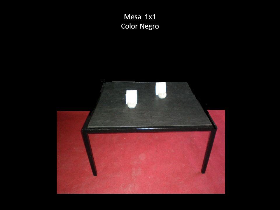 Mesa 1x1 Color Negro