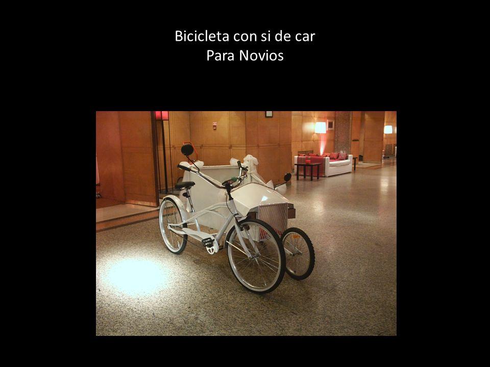 Bicicleta con si de car Para Novios