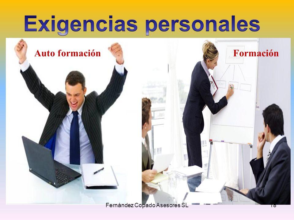 Auto formaciónFormación Fernández Copado Asesores SL18