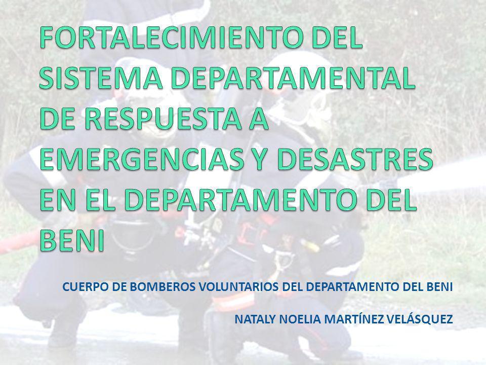 Involucrados Gobierno Departamental Autónomo del Beni Gobiernos Municipales de Trinidad, Riberalta, Santa Ana, San Joaquín y Magdalena.