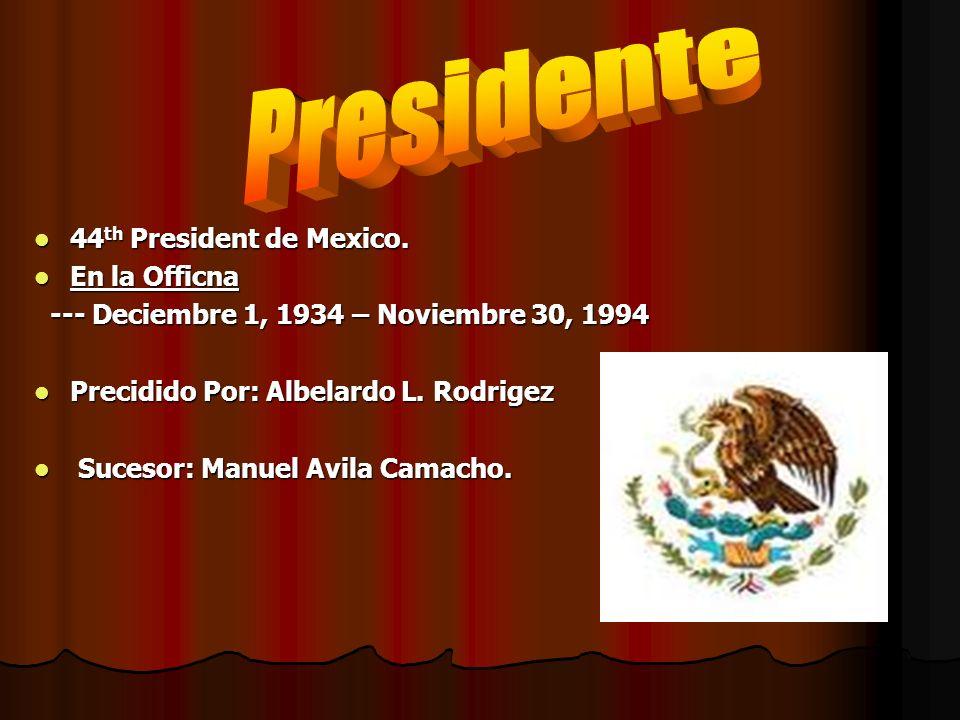 44 th President de Mexico. 44 th President de Mexico.