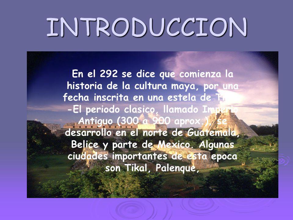territorio territorio El pueblo maya ocupó un vasto territorio: 900 km de norte a sur, desde la costa norte de Yucatán hasta la del Pacífico.
