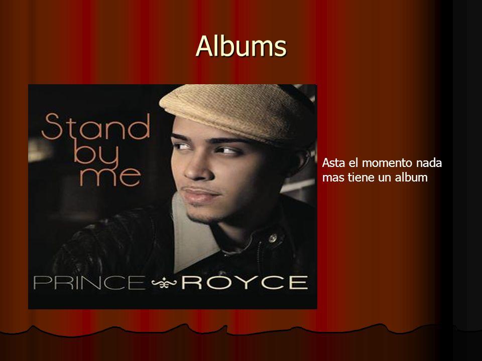 Albums Asta el momento nada mas tiene un album