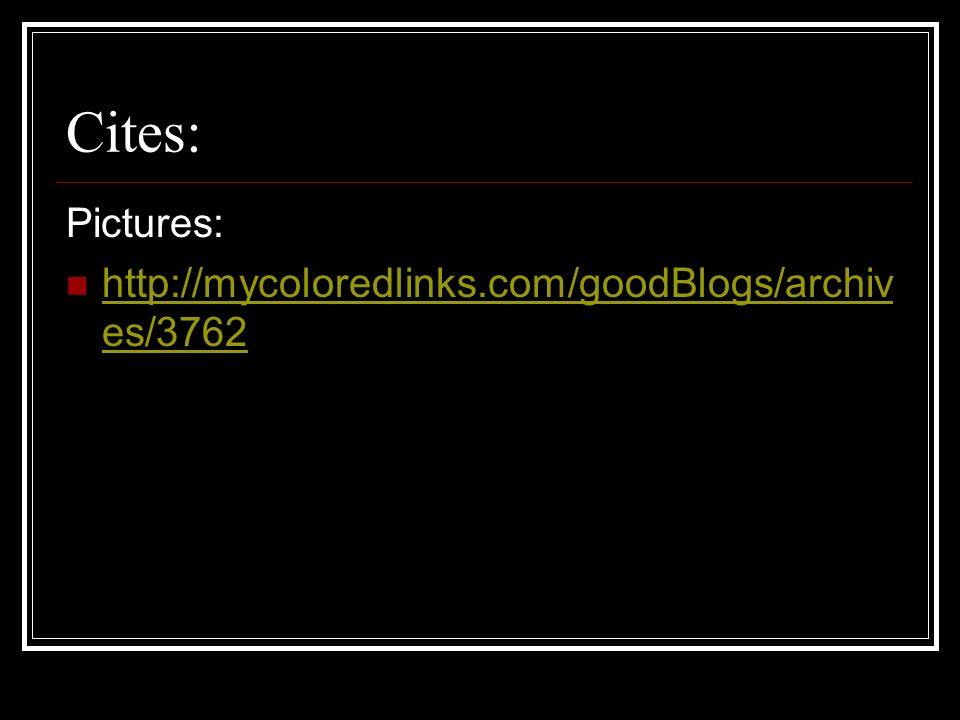 Cites: Pictures: http://mycoloredlinks.com/goodBlogs/archiv es/3762 http://mycoloredlinks.com/goodBlogs/archiv es/3762