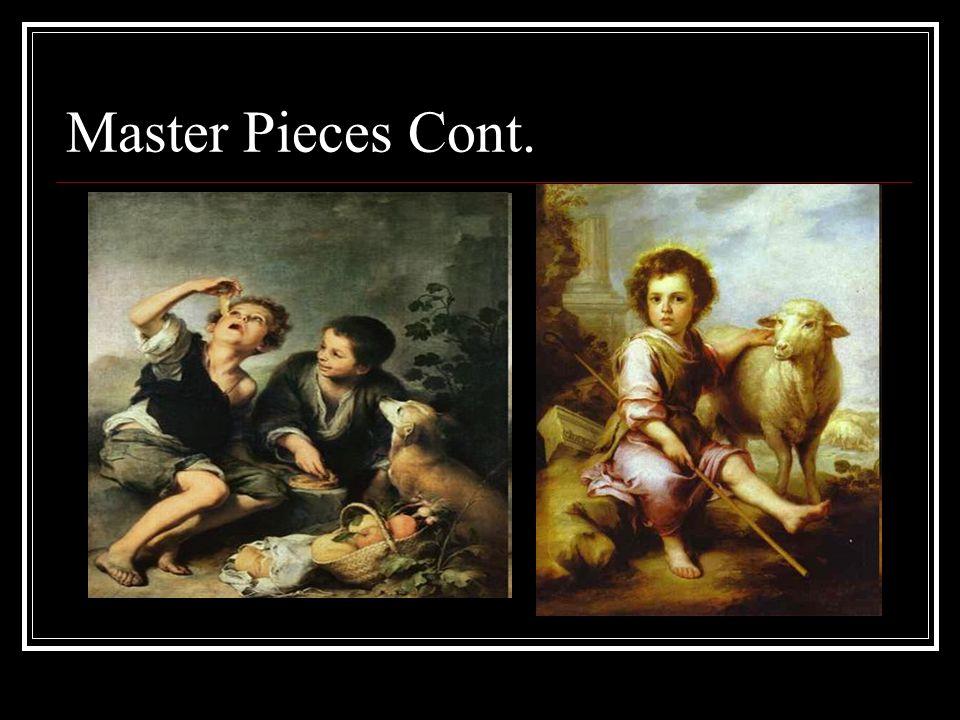 Master Pieces Cont.