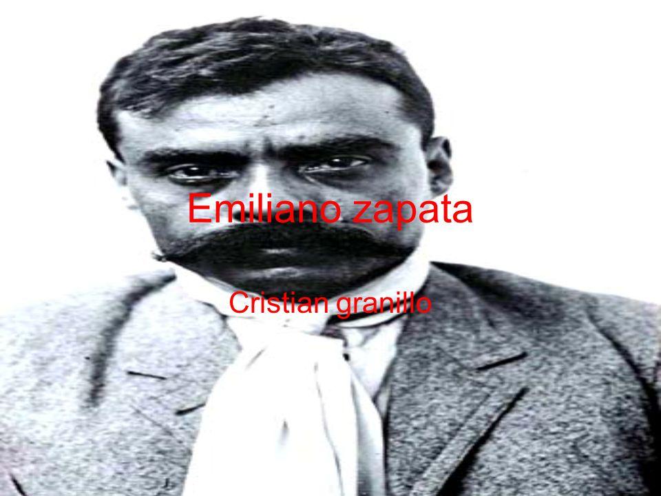 Emiliano zapata Cristian granillo