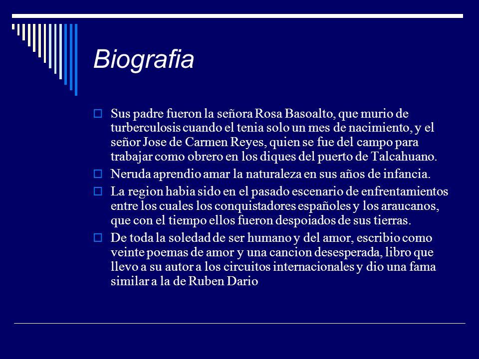 Biografia Sus padre fueron la señora Rosa Basoalto, que murio de turberculosis cuando el tenia solo un mes de nacimiento, y el señor Jose de Carmen Re