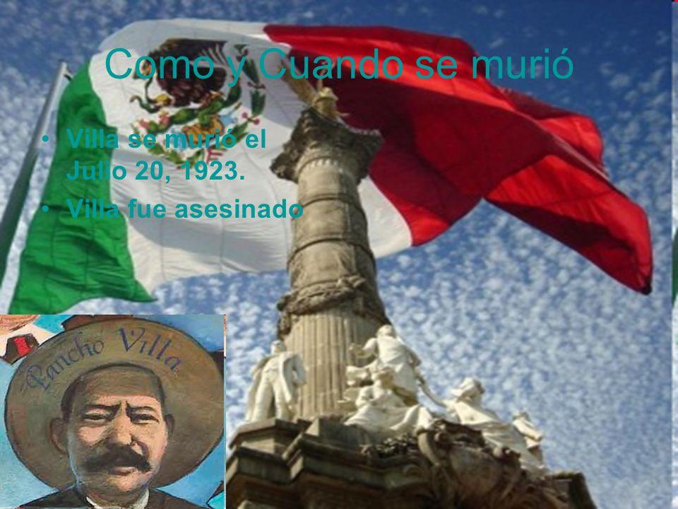Francisco (Pancho) Villa Y Emiliano Zapata