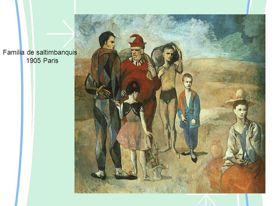 Familia de saltimbanquis 1905 Paris