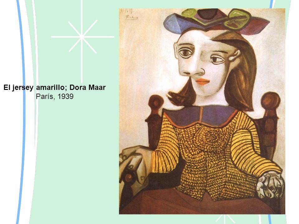 El jersey amarillo; Dora Maar París, 1939