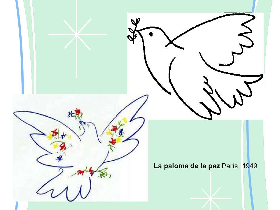 La paloma de la paz París, 1949
