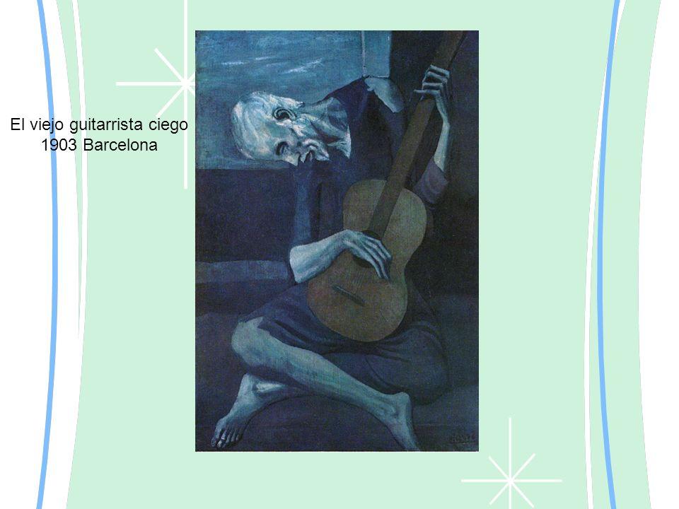 El viejo guitarrista ciego 1903 Barcelona