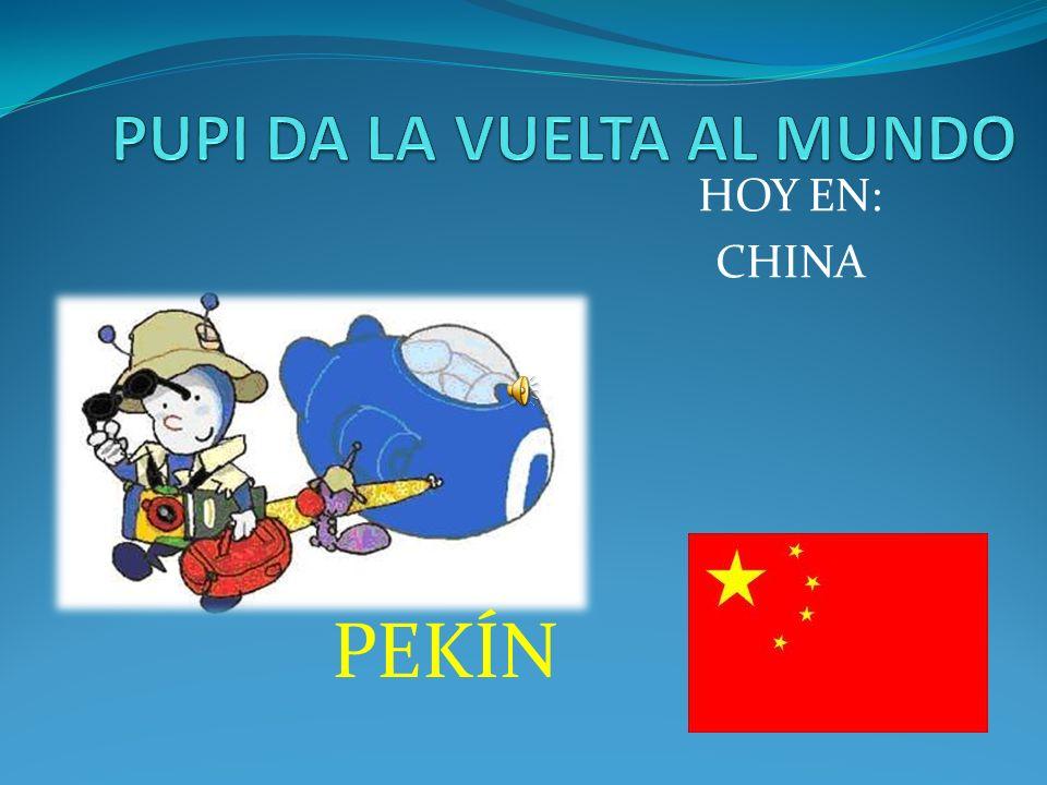 HOY EN: CHINA PEKÍN