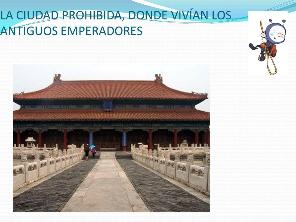 LA CIUDAD PROHIBIDA, DONDE VIVÍAN LOS ANTIGUOS EMPERADORES