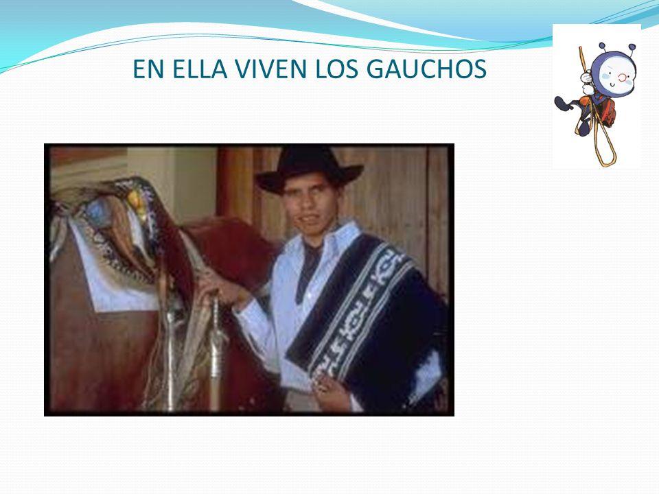 EN ELLA VIVEN LOS GAUCHOS