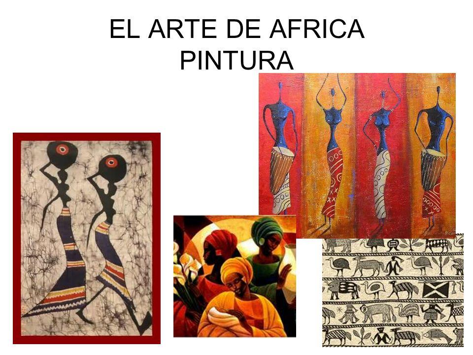 EL ARTE DE AFRICA PINTURA