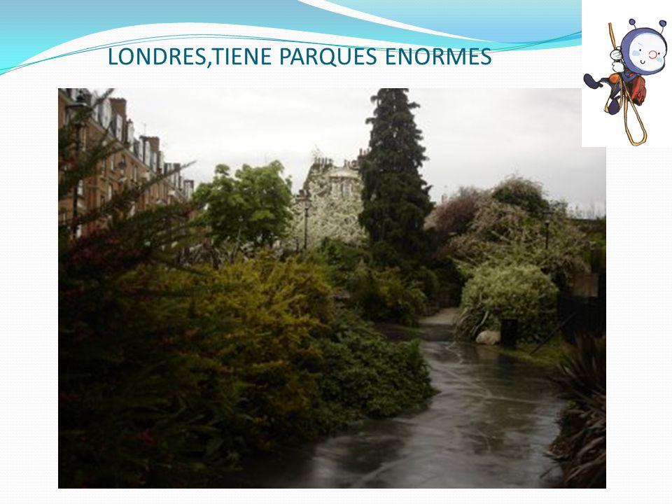 LONDRES,TIENE PARQUES ENORMES