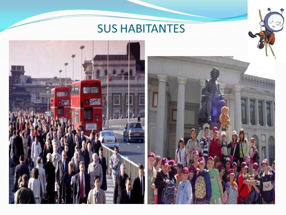 SUS HABITANTES