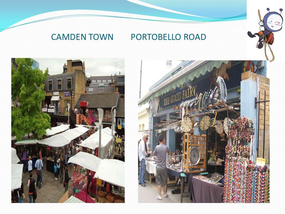 CAMDEN TOWN PORTOBELLO ROAD