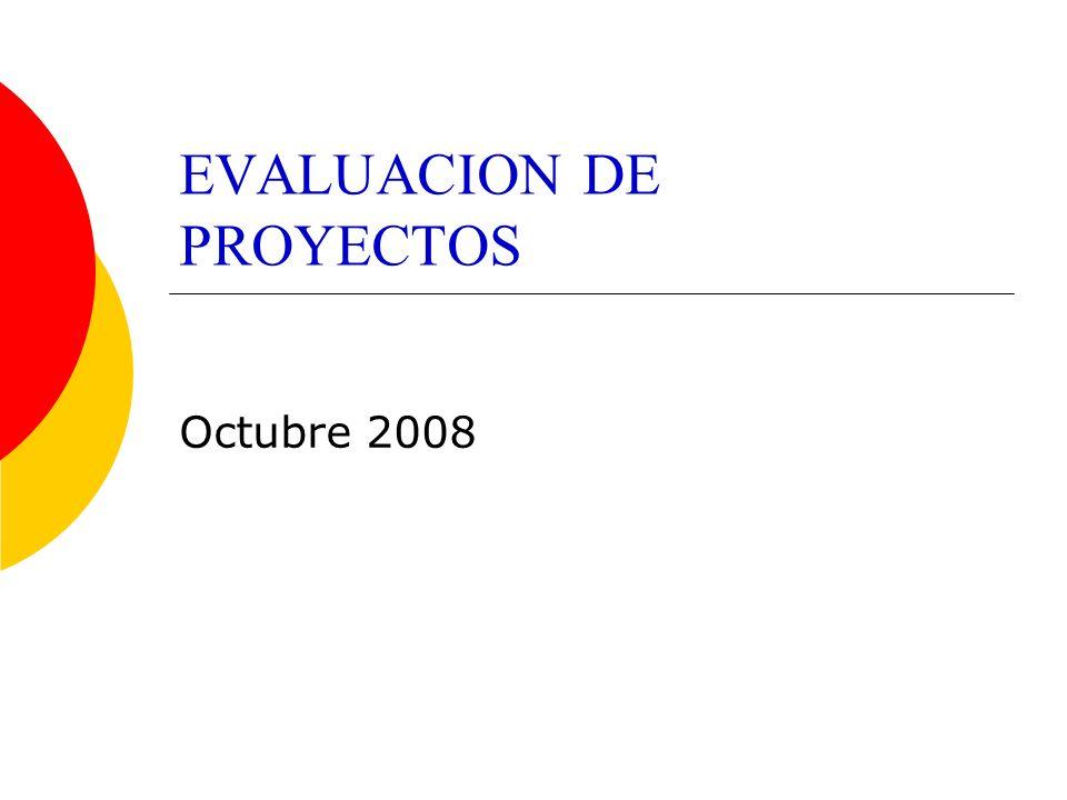Contenidos 1.Introducción 2. Clasificación de los proyectos 3.