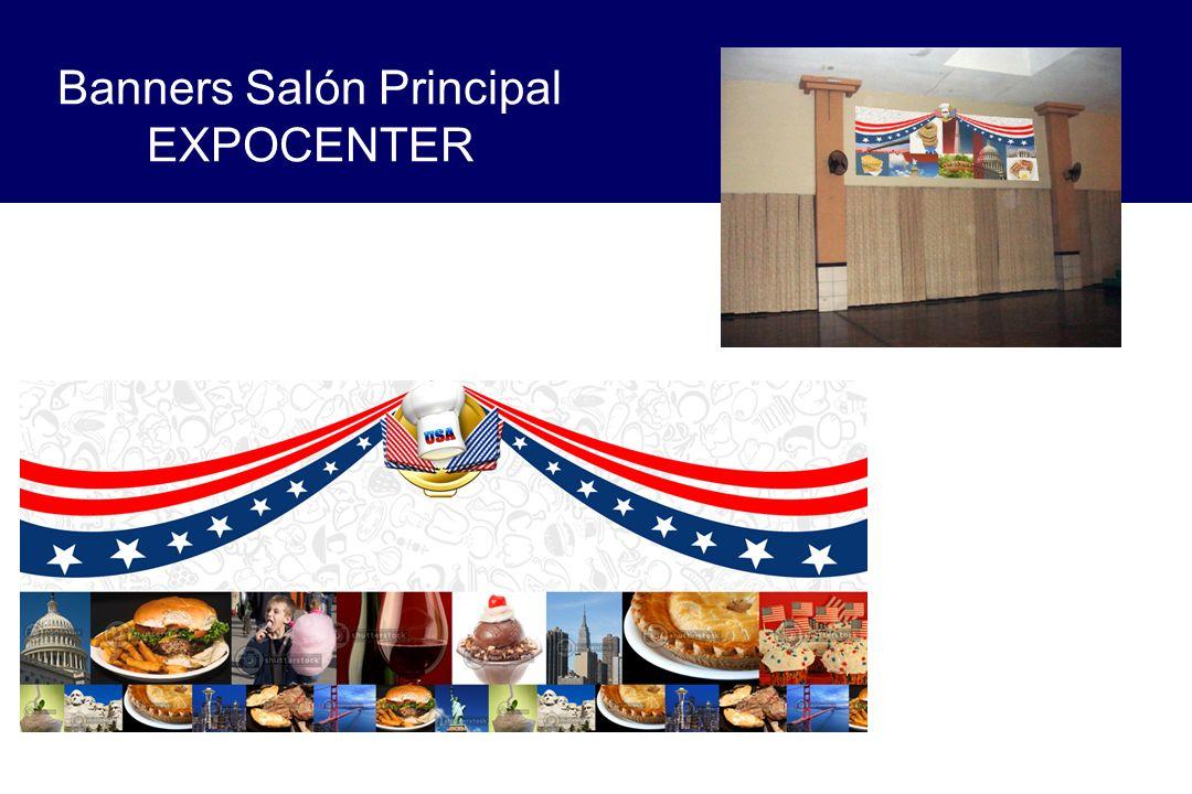 Banners Salón Principal EXPOCENTER